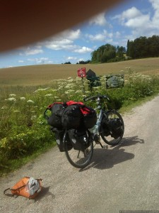 Bikingroute 2 at Lunde
