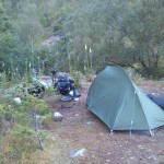 Camp beim Lysefjord