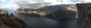 Preikestolen am Lysefjord