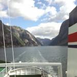 Auf der Fähre am Lysefjord